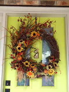 Fall wreath/ fall decor