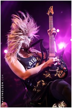 Heavy Metal Girl, Heavy Rock, Heavy Metal Music, Heavy Metal Bands, Nita Strauss, Hot Vampires, Lita Ford, Zakk Wylde, Fantasy Art Men