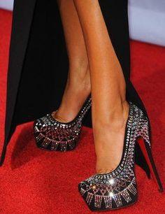 Red Carpet Red Bottoms High Heels