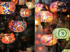 Must get my hands on one of these amazing lamps from Istanbul... Would be a perfect memory of Istanbul at home :)