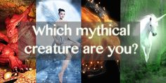 I am a fairy. Take this test and comment down below which mythical creature you are.