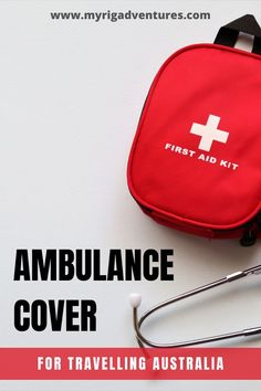 Are you covered for emergencies and accidents when you leave your home state to travel around Australia? In some states, yes, in some states, no. Here's the full break-down of ambulance cover for travelling Australia (state-by-state). #ambulance #australia #travel #insurance #emergency