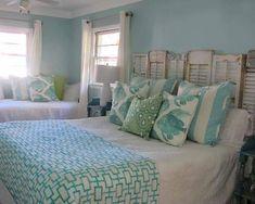Coastal bedroom #NewYearNewBed