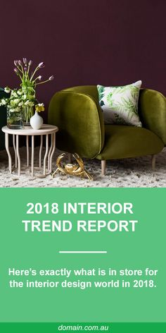 With the year well under way, most designer minds turn to refreshing or renovating their homes to sparkling effect. Exactly what is in store for the interior world in Fiddlestiks are professional {landscaping services 2018 Interior Trends, Trends 2018, Funky Home Decor, My New Room, Interior Design Kitchen, Kitchen Designs, Colorful Interiors, Diy Bedroom Decor, Design Bedroom