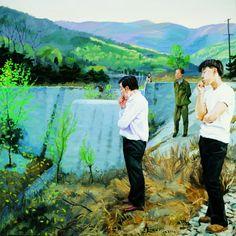 2000 WATCHING, Liu Xiaodong (b1963, Jincheng, Liaoning Province, China)