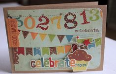 bits, baubles and bliss: 3 Simple (Stories) Birthday Cards