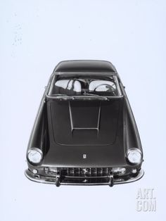 Frontal and Top View of a Ferrari Automobile Photographic Print by A. Villani at Art.com
