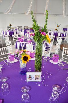 wedding - centerpieces DIY