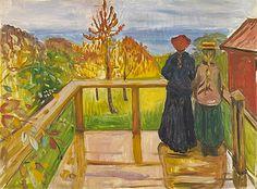 La pluie, 1902, Edvard Munch, Oslo, Nasjonaltmuseet