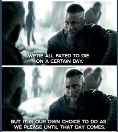 "Vikings ""In the meantime Floki, shut your face."""