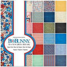 BoBunny CARNIVAL POTIONS 12x12 Dbl-Sided 2PC Scrapbooking Paper JUST 99 CENTS!