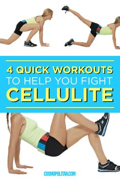 These four quick moves are designed to tighten muscle fibers for a toned, smooth look.