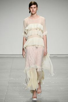 Olivia Palermo's #NYFW Pin Picks: Whimsy meets romance for Rebecca Taylor SS '15.