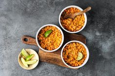 Linsen-Süsskartoffel-Eintopf Valeur Nutritive, Chana Masala, Coco, Meal Prep, Asian, Meals, Cooking, Ethnic Recipes, Vegan