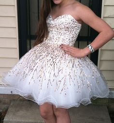 Friends 8th grade prom dress