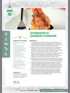 Sformatini di gamberi e verdure - Ricette Bimby