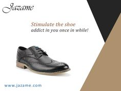 Stimulate the shoe addict in you once in while! Visit our website https://www.jazame.com/