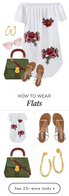 """Untitled #3403"" by elia72 on Polyvore featuring Burberry, Karen Walker and John Hardy"