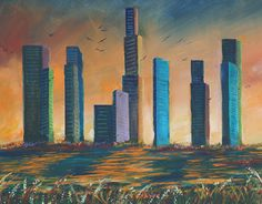 """Check out new work on my @Behance portfolio: """"2015--2016 Paintings"""" http://on.be.net/1ituVCL"""