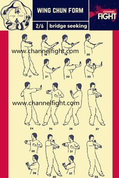 Wing Chun Form- Bridge Seeking 2/6