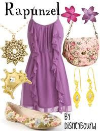 Disneybound. Create your own Disney inspired fashions.