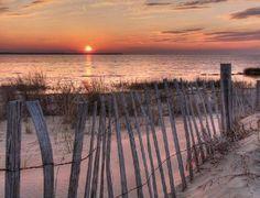 Sunrise, sea and beach