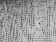knit art by gohli / black & white Knit Art, Crochet Art, Fabric Design, Printing On Fabric, Weaving, Quilts, Knitting, Crafts, Inspiration