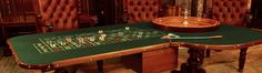 Stealer's Wheel! How we stumbled upon a dark secret from the prohibition years… Roulette Table, Casino Games, Poker Table, Rigs, Game Room, The Secret, Dark, Vintage