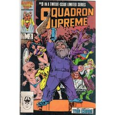 SQUADRON SUPREME #9 | Marvel Comics | 1985-1986 | MINI-SERIES | The Recycled Find