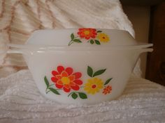 FREE SHIPPING French Arcopal Casserole Dish ! PYREX on Etsy, $84.00