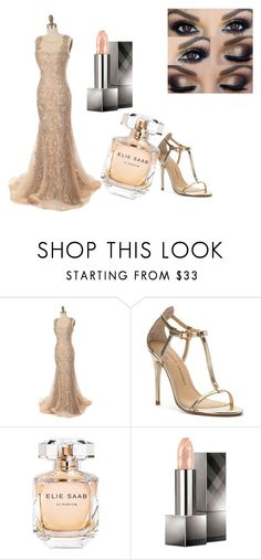 """Dress to dare"" by asiannaluxxx on Polyvore featuring Chinese Laundry, Elie Saab, Burberry, Prom, dress, date, wedding and ball"