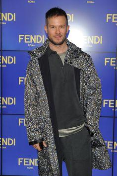 Paolo Stella wearing Fendi Men's Spring/Summer 2016 for the Womenswear Fall/Winter 2016-17 show.