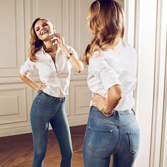 Gina Tricot Jeans 2014 Campaign 3 | Designer Collection from Fashion and Style