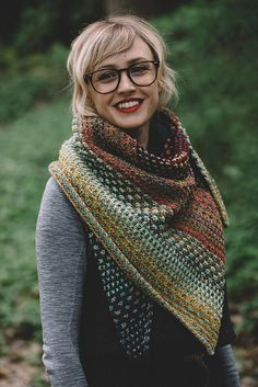 55f9c8cfc4efb Ravelry  Nightshift shawl knitting pattern by Andrea Mowry Knitted  Blankets