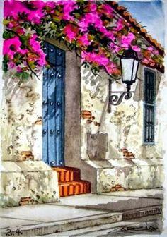 flores-y-balcones-de-cartagena-pinturas