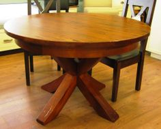 French Country Lucas Table - Solid Maple - Hand Crafted in Duncan, BC - Modern Country Interiors