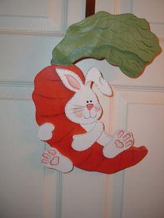 Got Carrots Bunny Door/wall Hanger