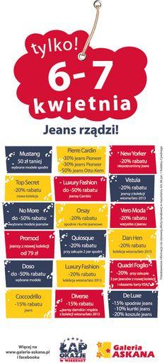 Weekend jeansów!