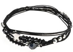 BRACELET SEMAINIER SILVER STAR - BRACELETS/Bracelets Cordon - DORIANE Bijoux
