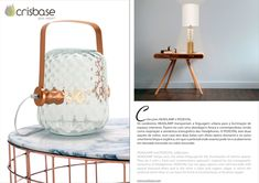 The main role of this magazine focuses on three important actions: to elucidate, clarify and inform, making as far as possible all relevant information about the lighting sector. Pedestal, Table Lamps, Portuguese, Presents, Magazine, Lighting, Design, Home Decor, Night Lamps