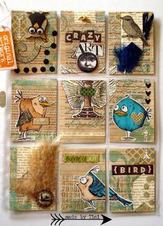 Arts by Tini: My Pocket Letters; May 2015  #pocketletter #timholtz