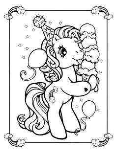 The 61 Best My Little Pony Coloring Images On Pinterest Coloring