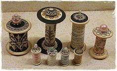 To scrap or not to scrap, that's the question.: Werkbeschrijving Klosjes / spool tutorial
