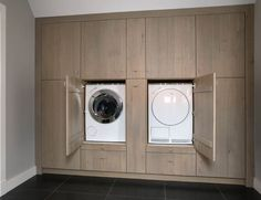 Laundry and linen cabinetry Mudroom Laundry Room, Laundry Room Remodel, Laundry Room Cabinets, Ikea Pax Wardrobe, Laundry Room Inspiration, Laundry Room Design, Washroom, Home Deco, Washing Machine