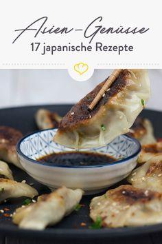 Von den kulinarischen Highlights Japans könnt ihr nicht genug bekommen? Aufgepasst: Heute halten unsere Foodblogger 17 japanische Rezepte für euch bereit. Sushi Co, Bento Box, Sweet And Salty, Charcuterie, Asian Recipes, Antipasti Board, Nom Nom, Food Porn, Veggies