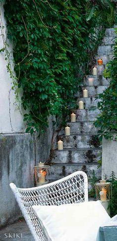 Stairs, House in Lisbon, photo by Caras Decoração Magazine | Skike Design
