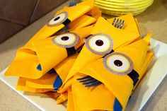 Despicable Me Birthday Party Ideas | Photo 13 of 36 | Catch My Party