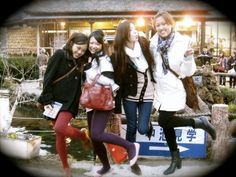 With my favourite girls in Japan <3