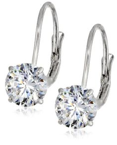 10k White Gold Dangle Earrings Made with Round-Cut Swarovski Zirconia (2 cttw) Amazon Curated Collection,http://www.amazon.com/dp/B007T4WS64/ref=cm_sw_r_pi_dp_Ftyvtb0SXHK1CMXF