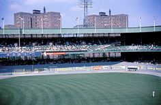 Polo Grounds - history, photos and more of the New York Giants former ballpark New York Mets Baseball, Baseball Park, Giants Baseball, Sports Baseball, Baseball Players, New York Giants, Ny Yankees, New York Stadium, Stadium Tour